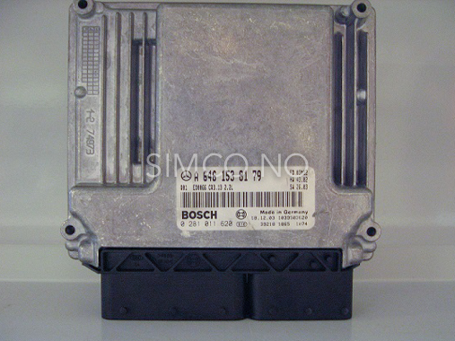 mercedes benz ecu